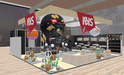 Virtual exhibition stand IBIS Backwaren