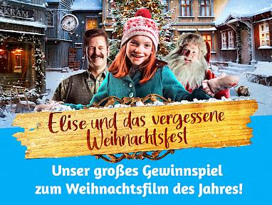 "Raffle cinema release ""Elise and the forgotten Christmas"""